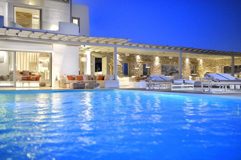Mykonos luxury villa Malena42