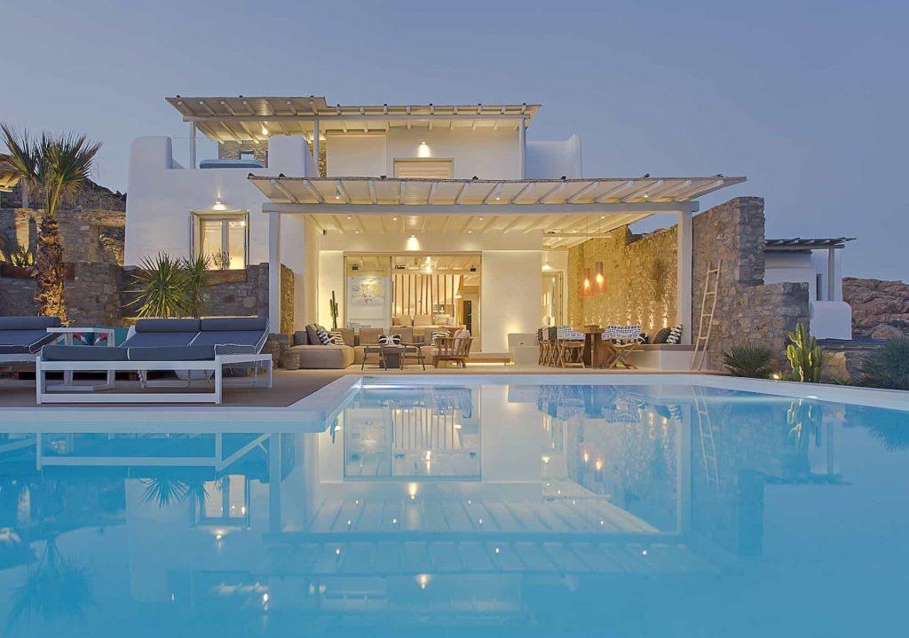 Mykonos luxury villa Megara40