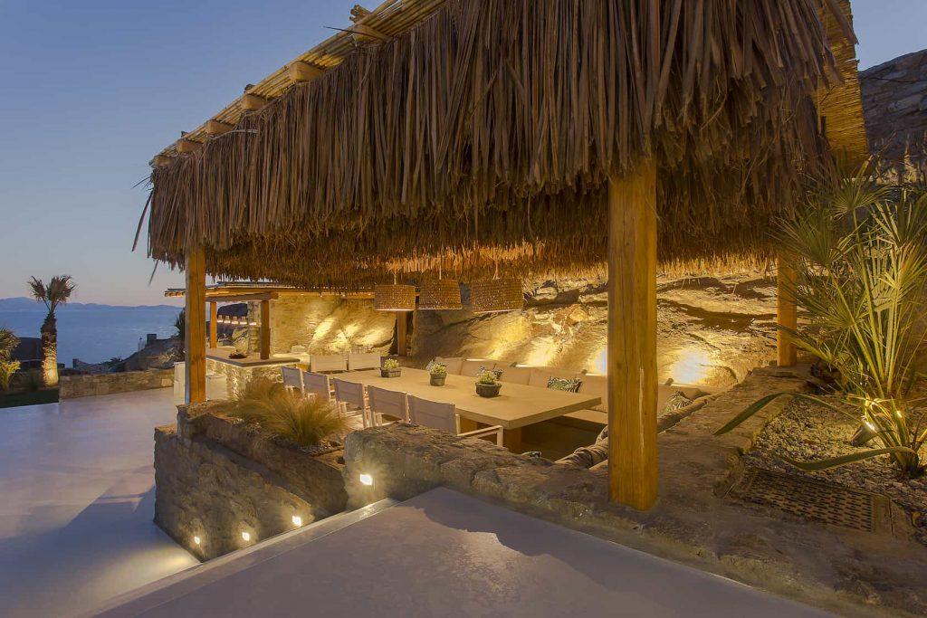 Mykonos luxury villa Megara42