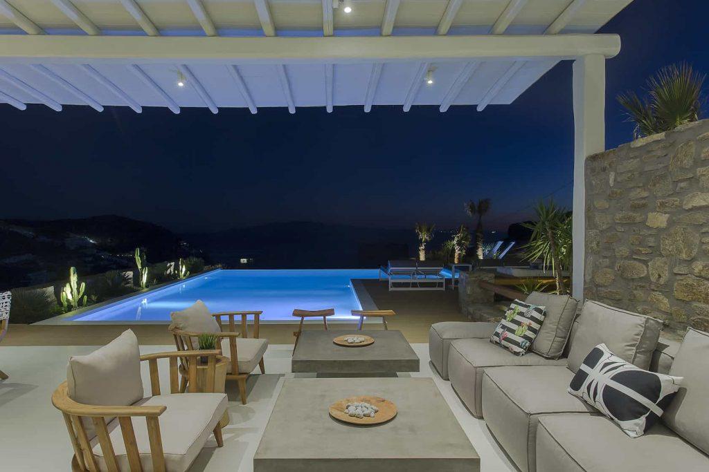 Mykonos luxury villa Megara45