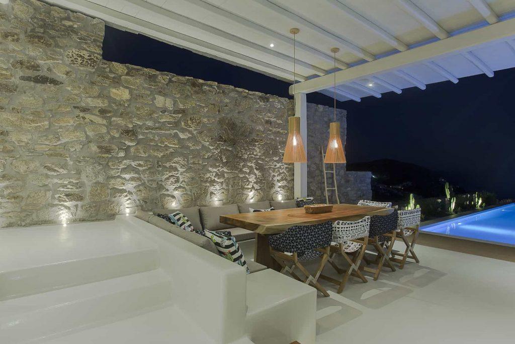 Mykonos luxury villa Megara46