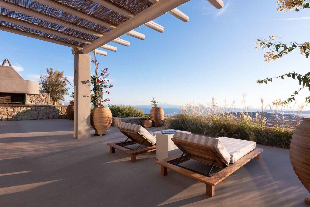 Mykonos luxury villa Neli11