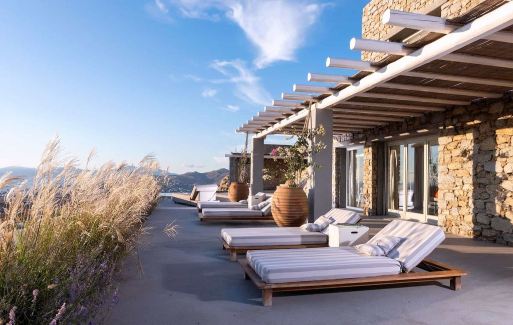 Mykonos luxury villa Neli12