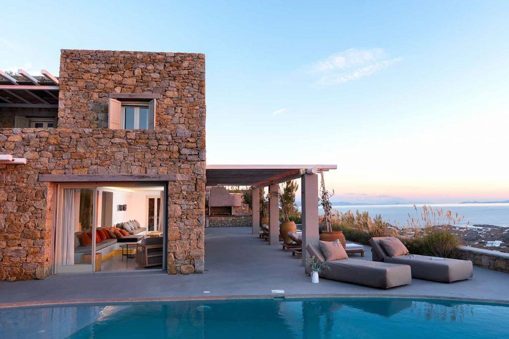 Mykonos luxury villa Neli15