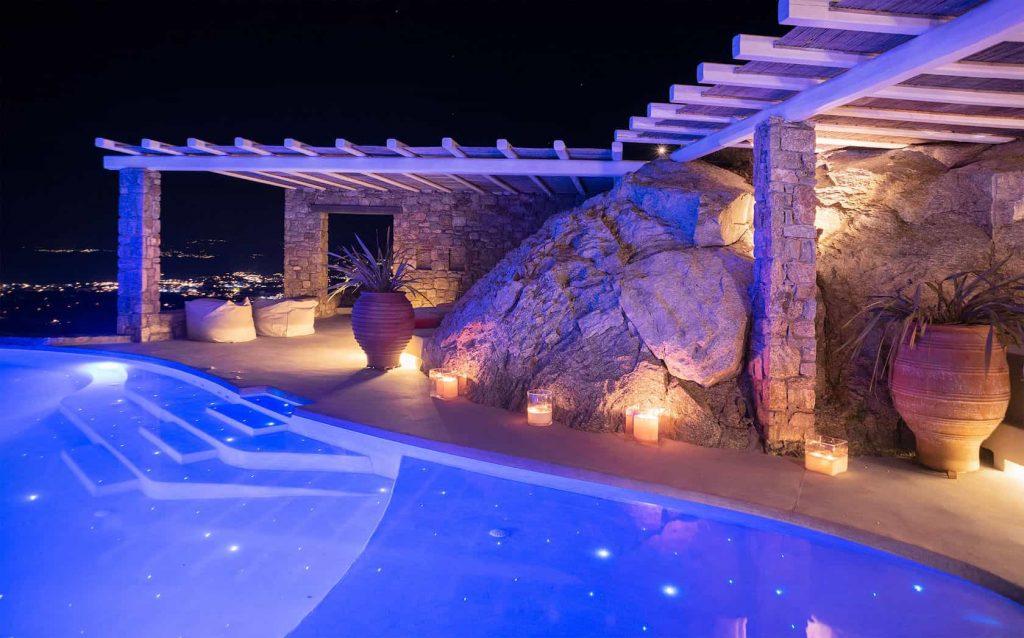 Mykonos luxury villa Neli16
