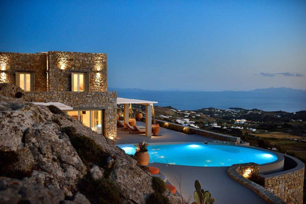 Mykonos luxury villa Neli17