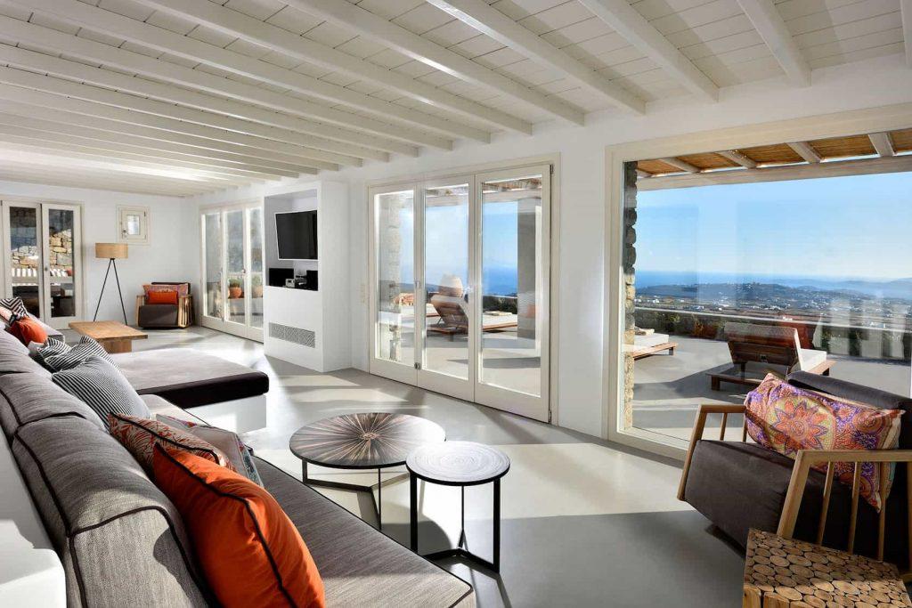 Mykonos luxury villa Neli24