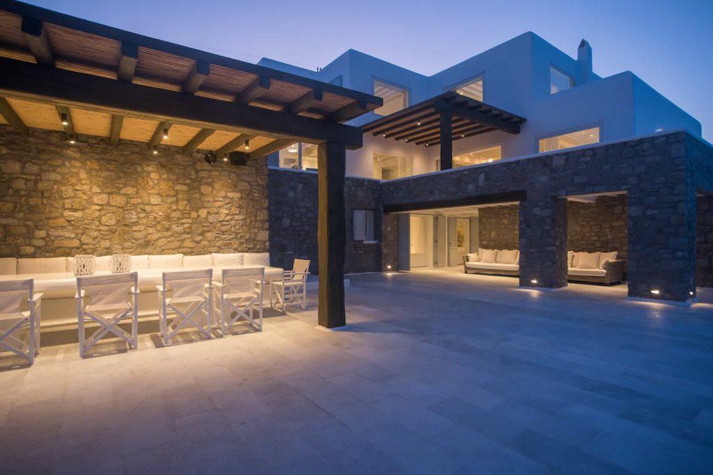 Mykonos luxury villa Nephele43