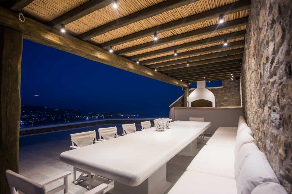 Mykonos luxury villa Nephele45