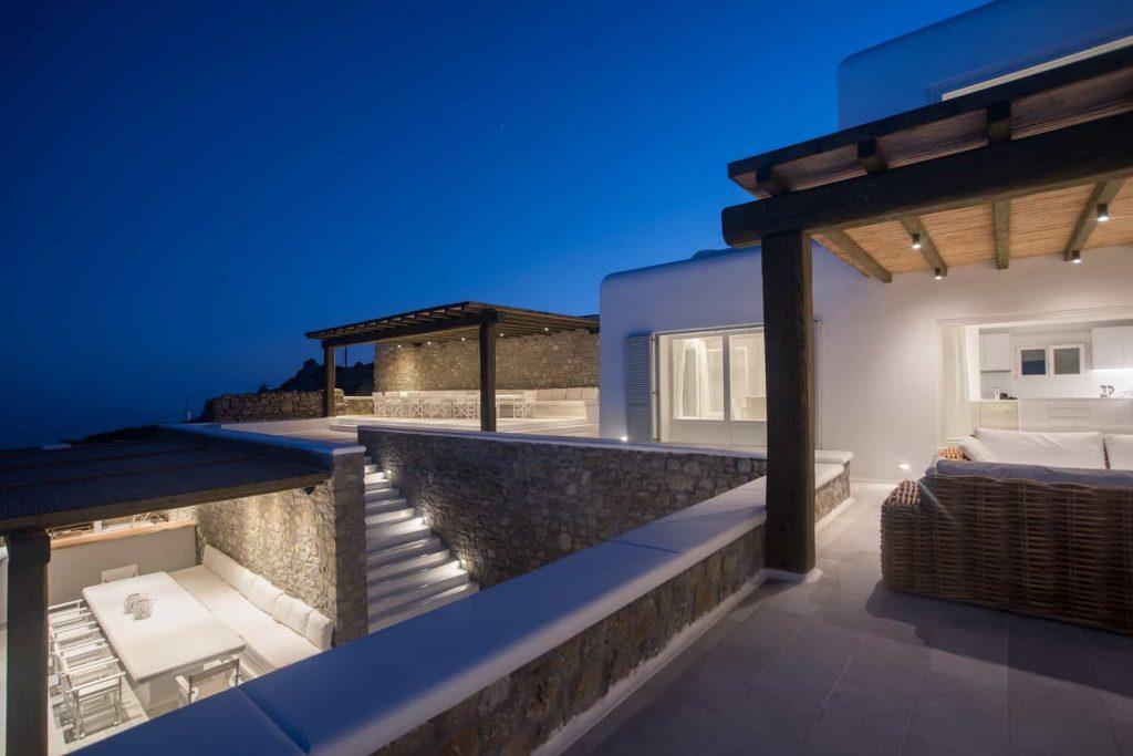 Mykonos luxury villa Nephele46