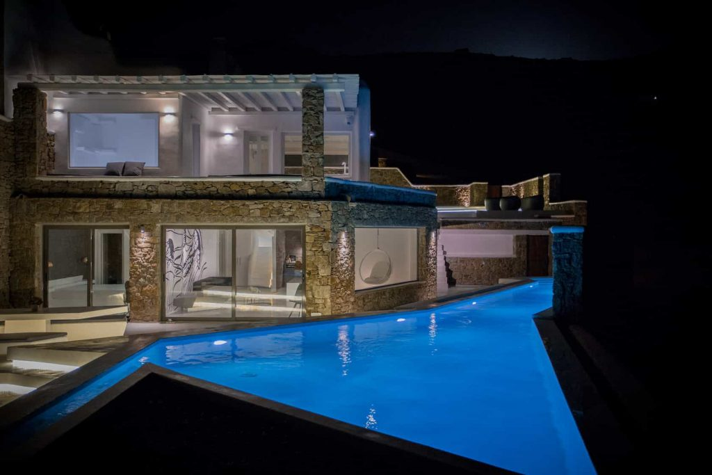 Mykonos luxury villa Oceana21