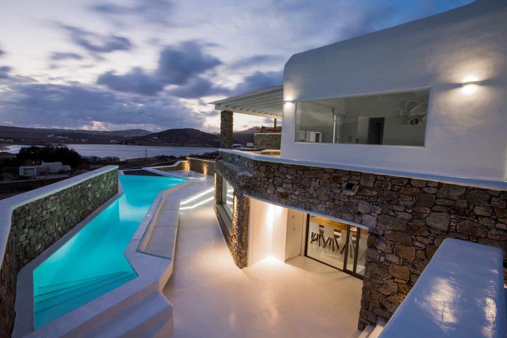 Mykonos luxury villa Oceana34