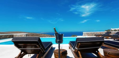 D. Rock Champagne meets Mykonos.Luxury Villas