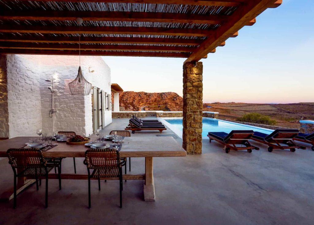 Mykonos luxury villa Panamera33
