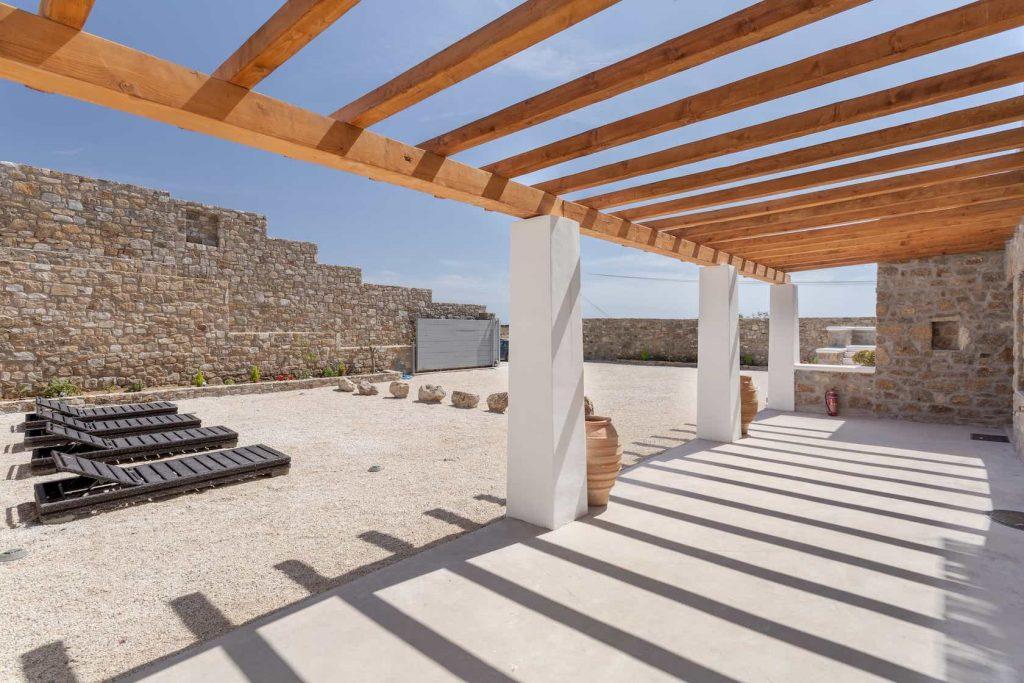 Mykonos luxury villa Panamera4
