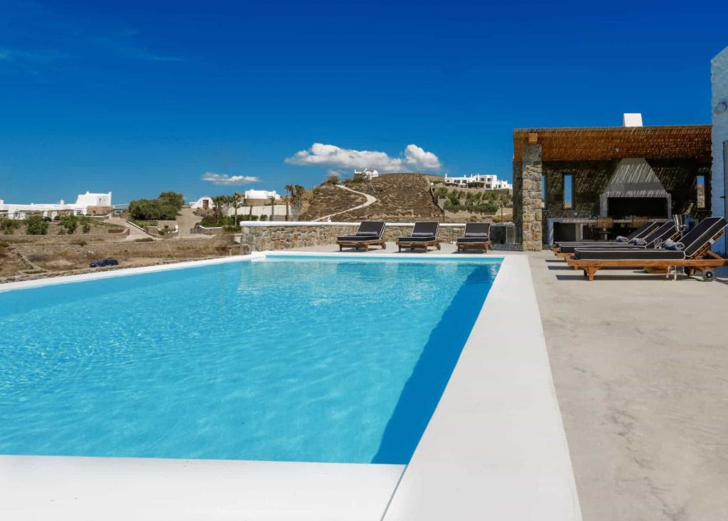 Mykonos luxury villa Panamera40