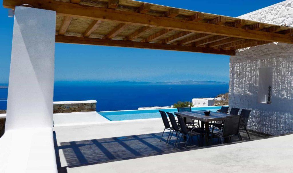 Mykonos luxury villa Panamera45