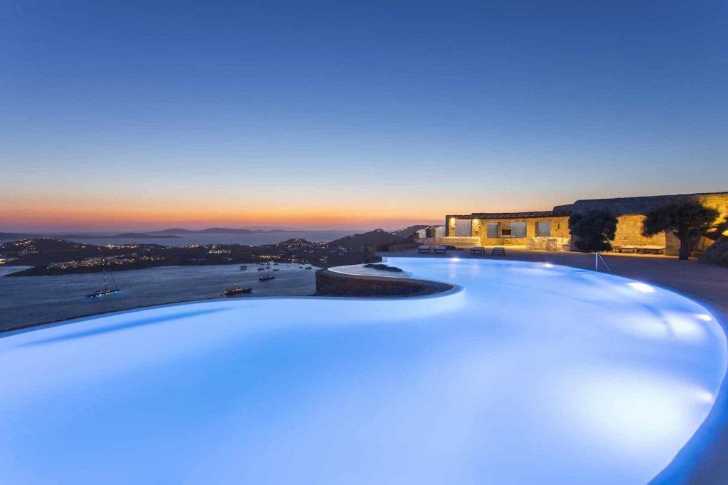 Mykonos luxury villa Panthea44