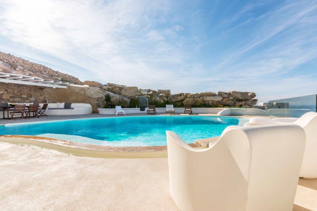 Mykonos luxury villa Parole42