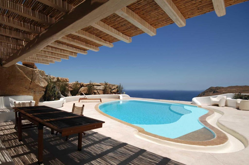 Mykonos luxury villa Parole45