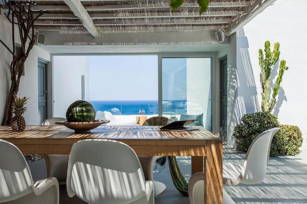 Mykonos Luxury Villa Pearl3