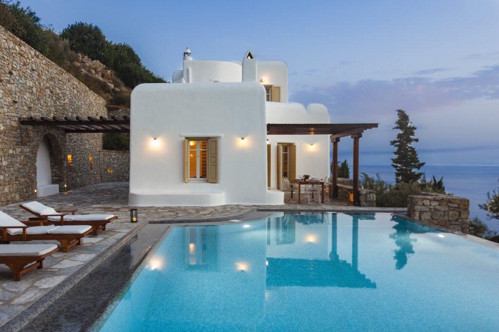 Mykonos Luxury Villa Persephone23