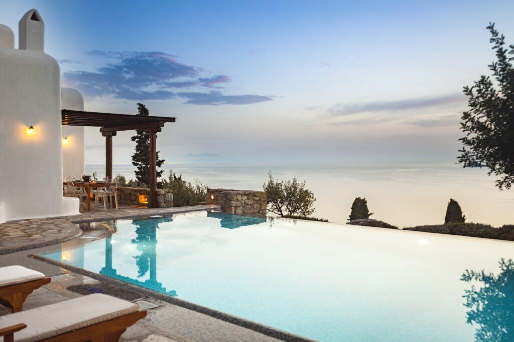 Mykonos Luxury Villa Persephone24
