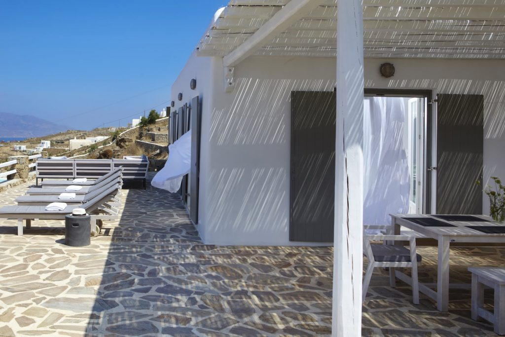 Mykonos Luxury Villa Star Light17