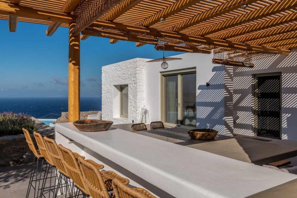 Mykonos luxury villa Sunny23