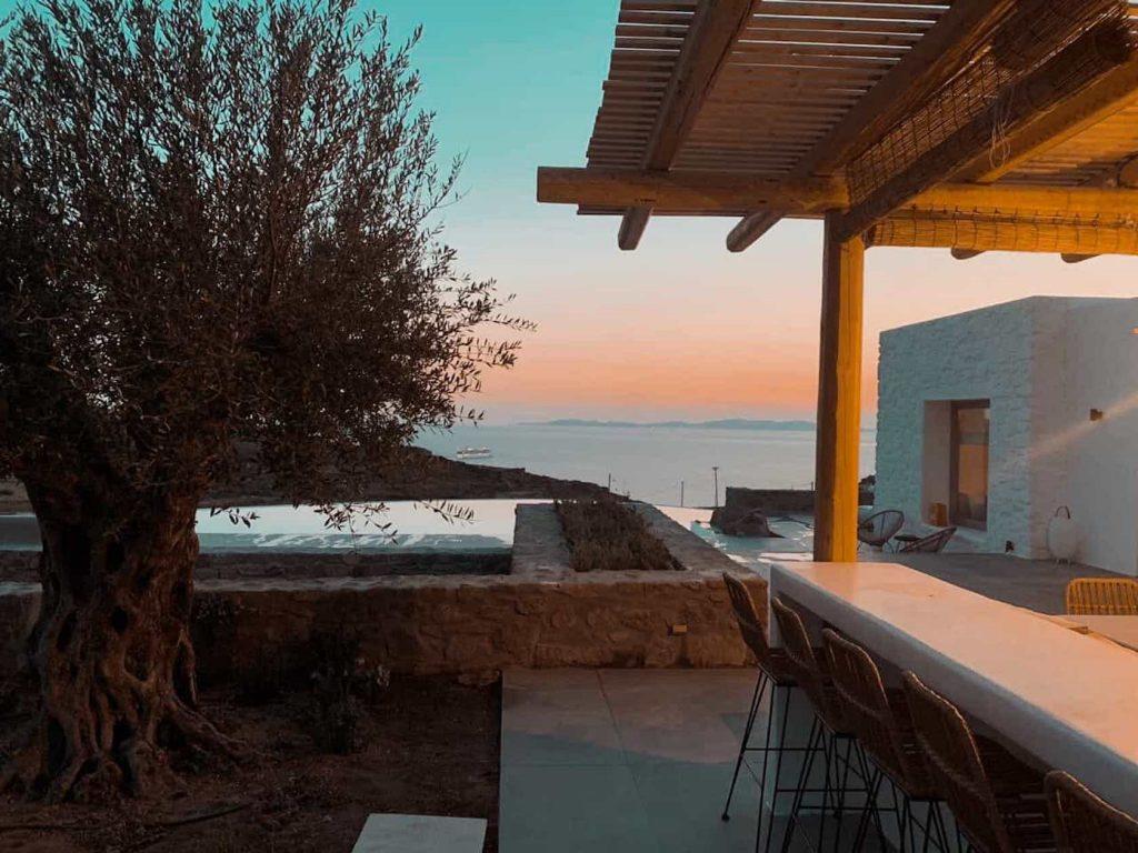 Mykonos luxury villa Sunny32