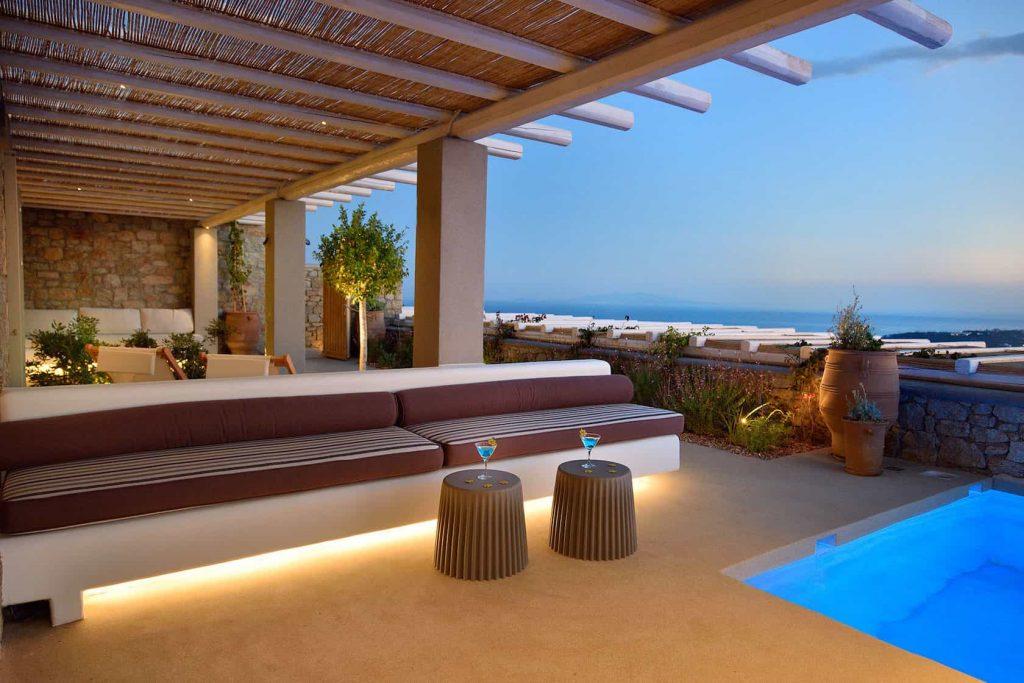 Mykonos luxury villa Zina24