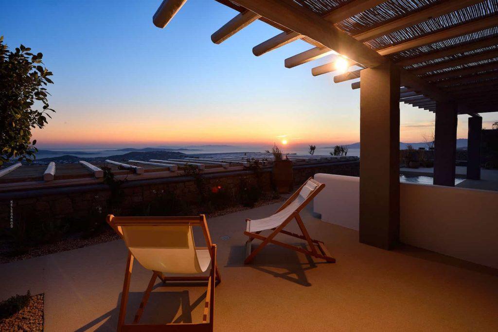 Mykonos luxury villa Zina7