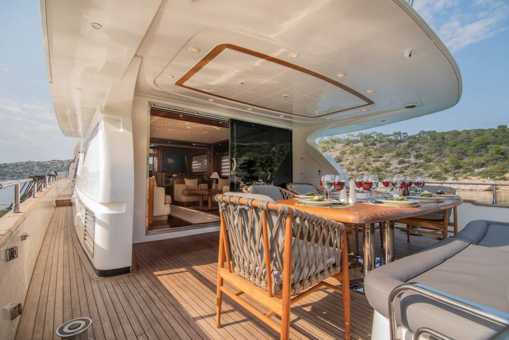 Mykonos luxury yacht Alalunga78ft1
