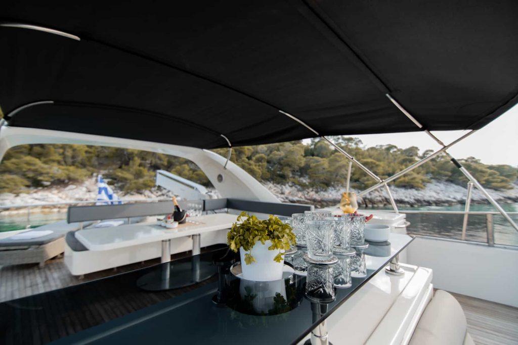 Mykonos luxury yacht Alalunga78ft10