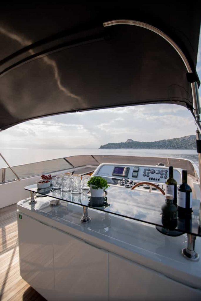 Mykonos luxury yacht Alalunga78ft11