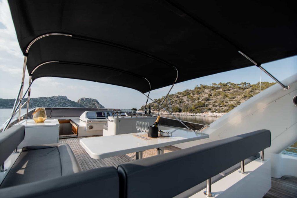 Mykonos luxury yacht Alalunga78ft12