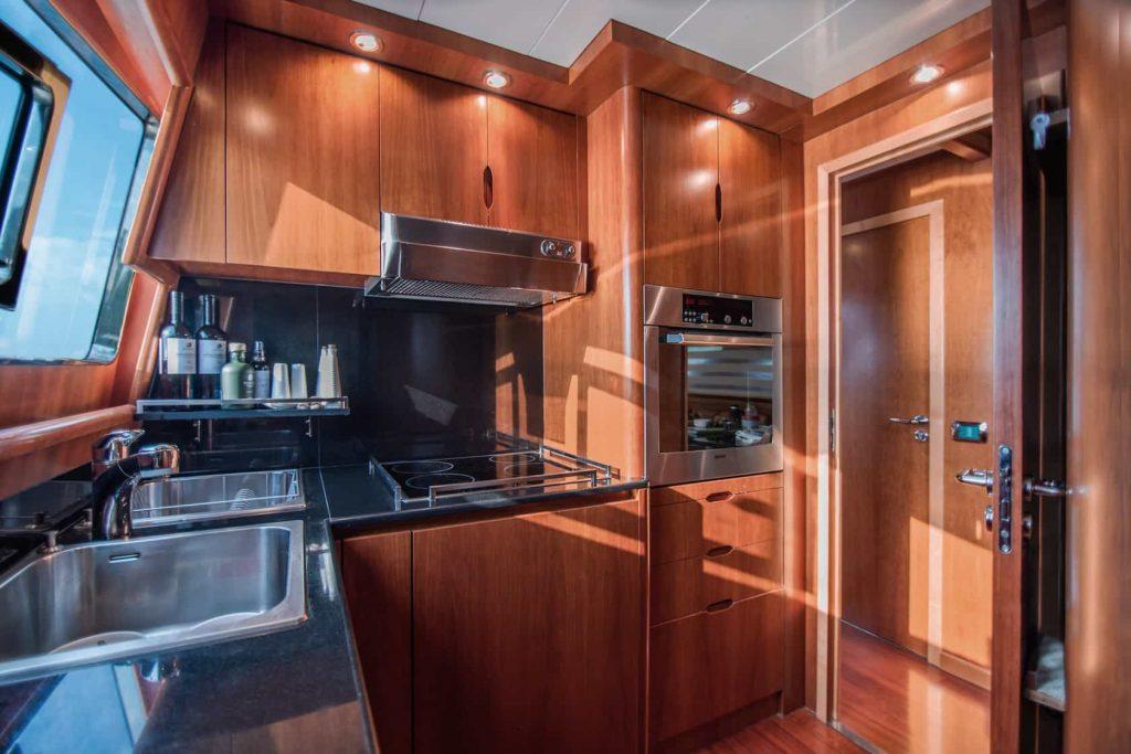 Mykonos luxury yacht Alalunga78ft13