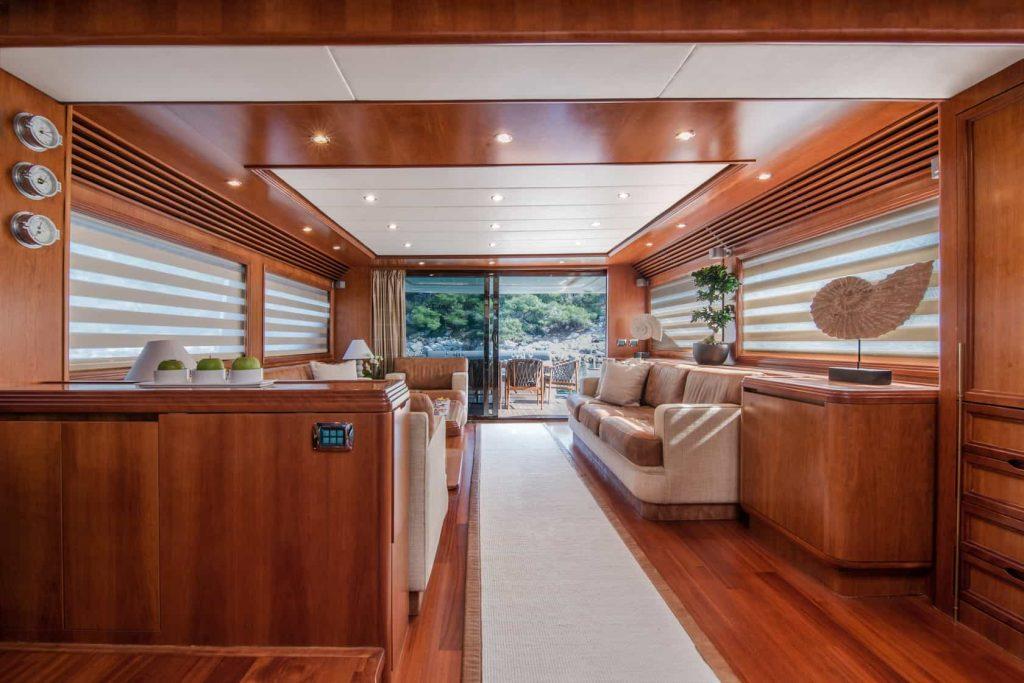 Mykonos luxury yacht Alalunga78ft15