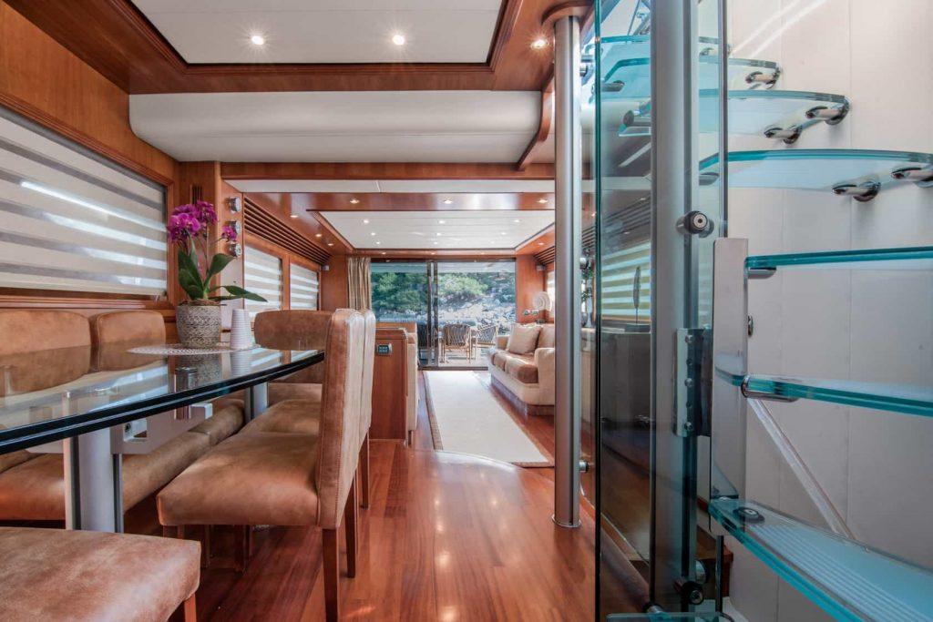 Mykonos luxury yacht Alalunga78ft16