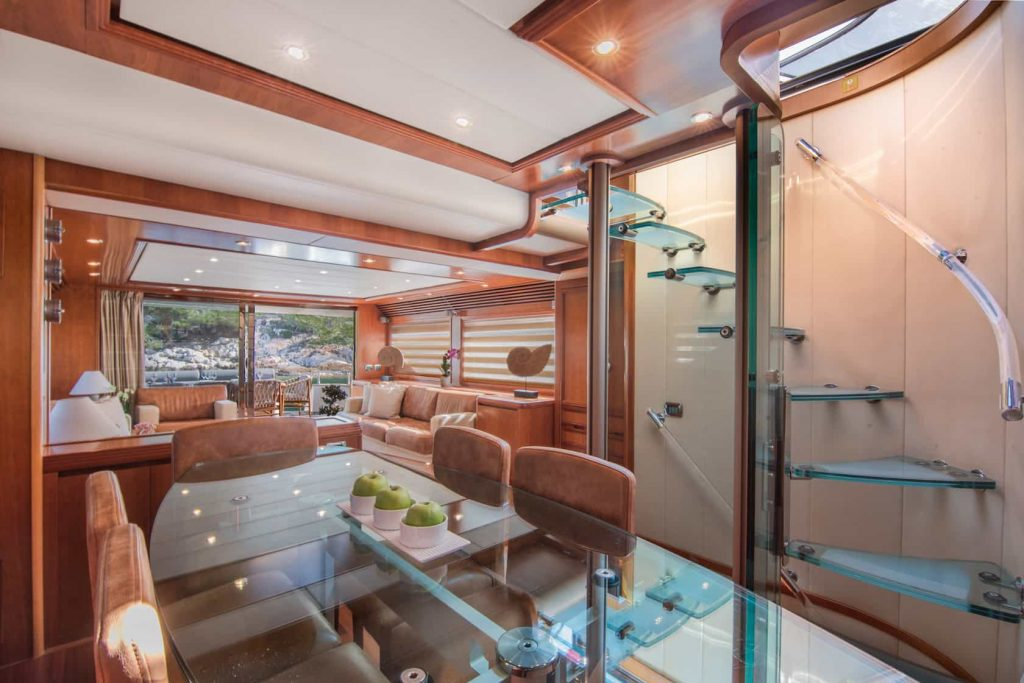 Mykonos luxury yacht Alalunga78ft18
