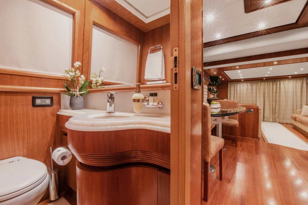 Mykonos luxury yacht Alalunga78ft21