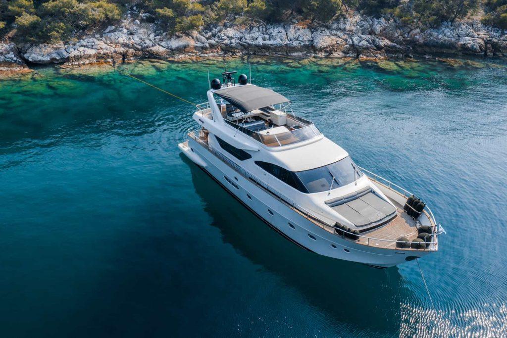 Mykonos luxury yacht Alalunga78ft25