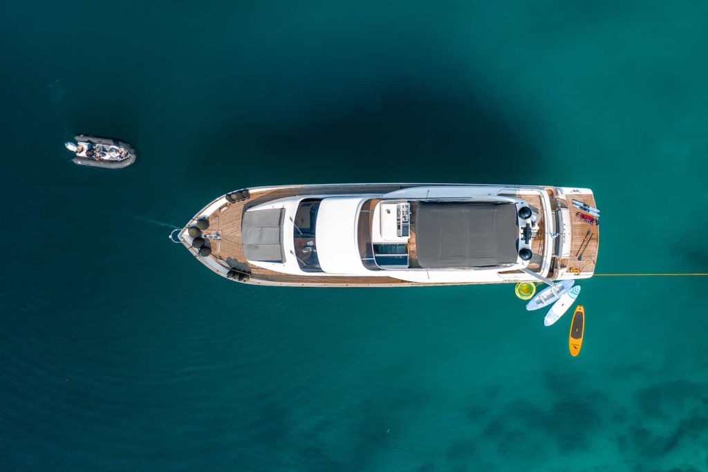 Mykonos luxury yacht Alalunga78ft26