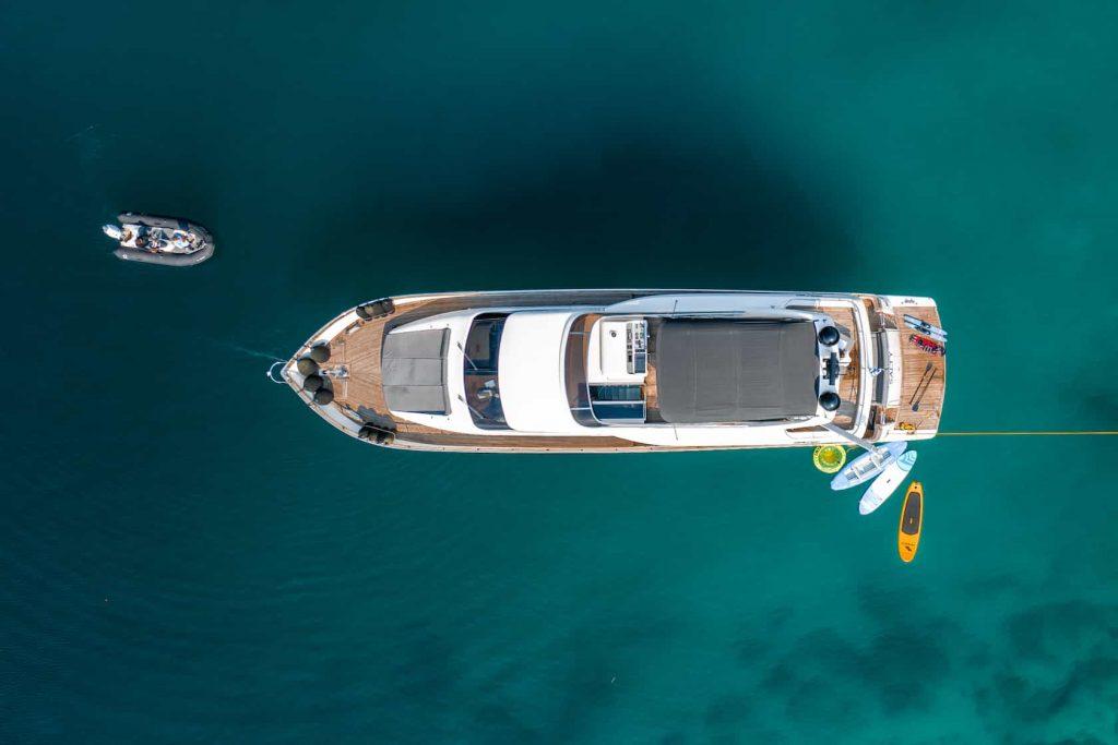 Mykonos luxury yacht Alalunga78ft26
