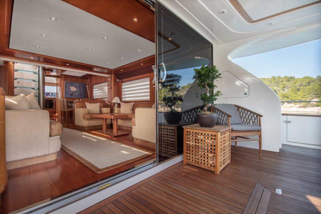 Mykonos luxury yacht Alalunga78ft7