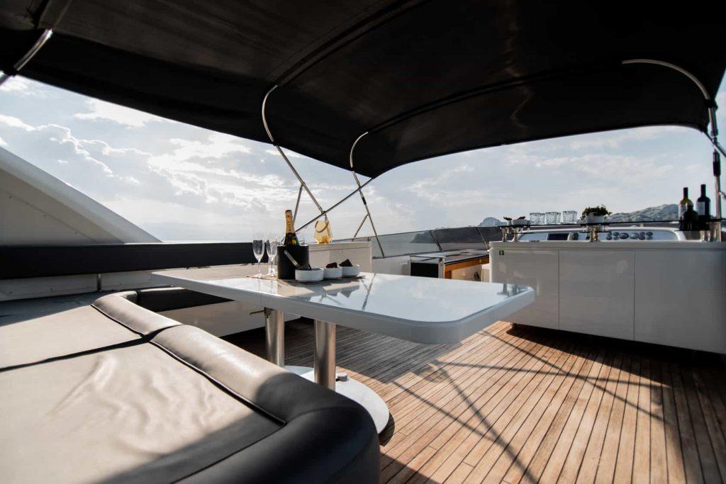 Mykonos luxury yacht Alalunga78ft9