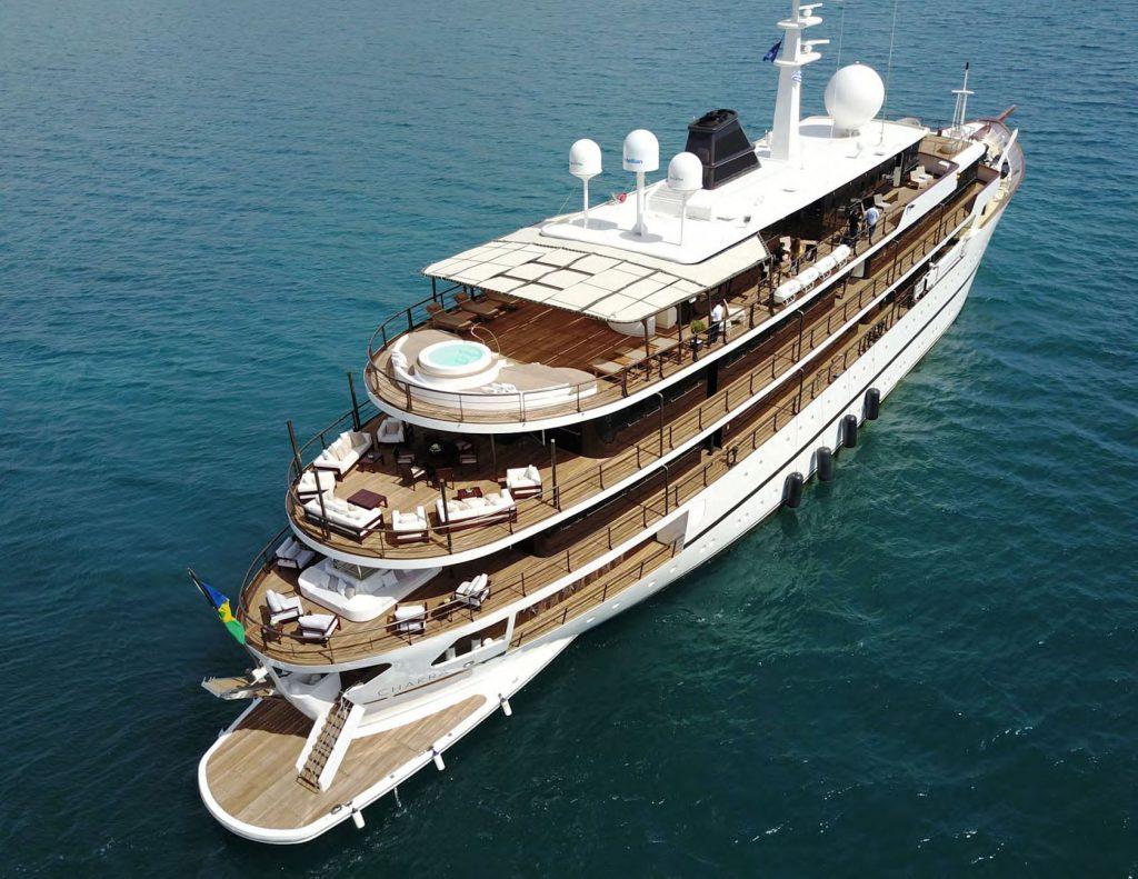 Mykonos Luxury Yacht Chakra11