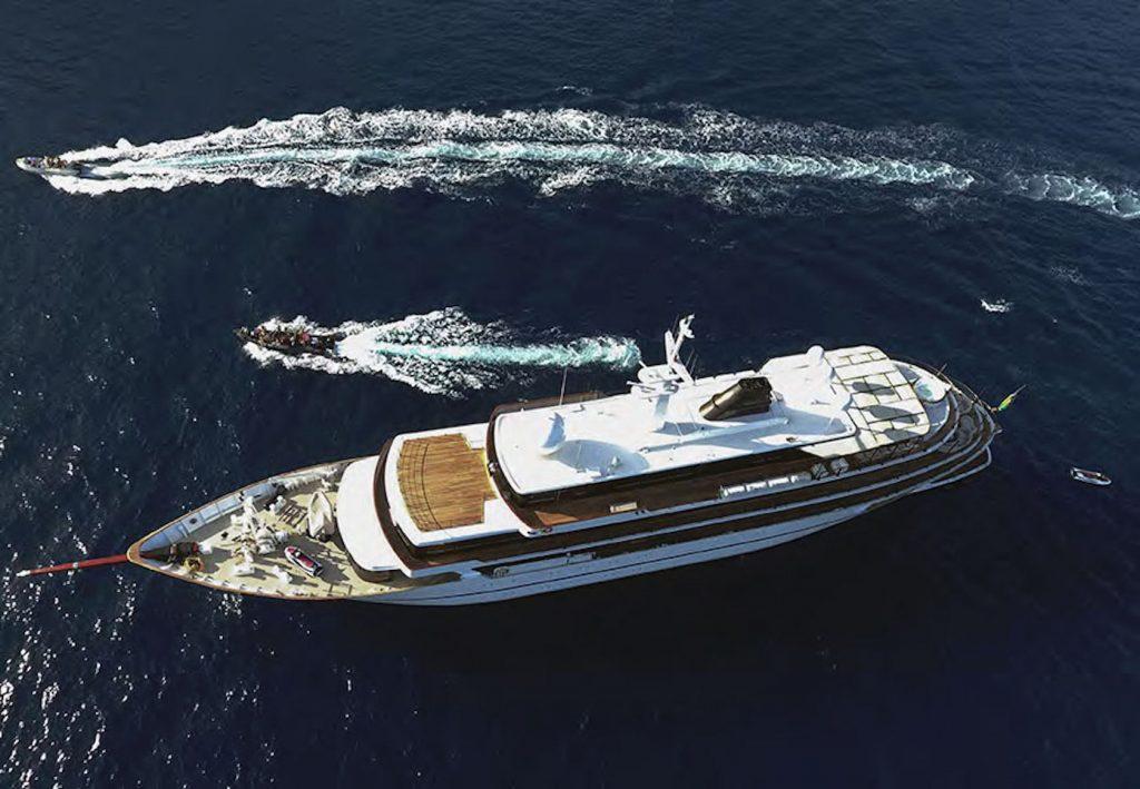 Mykonos Luxury Yacht Chakra2