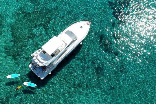 Mykonos luxury yacht Ferretti 53 Flybridge - Baby7