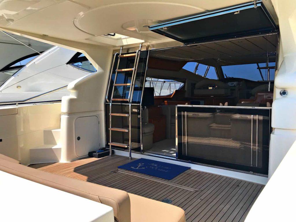 Mykonos luxury yacht Ferretti 53 Flybridge - Baby8